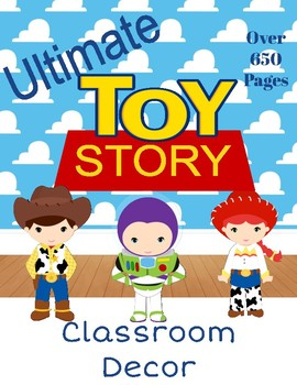 Toy Story Classroom Theme Decor (Disney/Pixar)