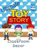 Toy Story Classroom Theme Decor (Editable)