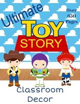 Toy Story Classroom Theme Decor (Disney/Pixar)