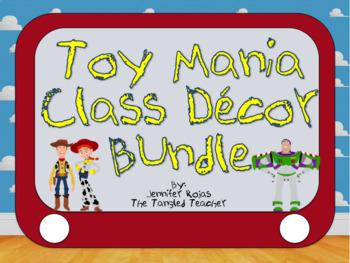 Toy Story Theme Classroom Decor Set