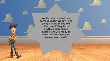 Toy Story CyberHunt For Book Awards