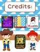 Toy Story Editable Clip Chart and Binder Covers