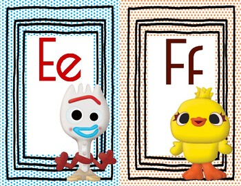 Toy Story Inspired Alphabet