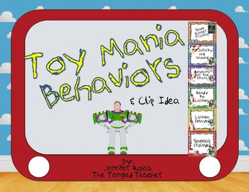 Download Toy Story Inspired Buzz Lightyear Behavior Clip Chart by The Tangled Teacher