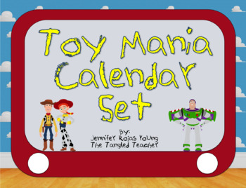 Toy Story Inspired Classroom Calendar Kit