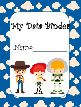 Toy Story Inspired Student Data Binder