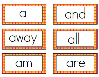 Toy Story Inspired Word Wall Kit