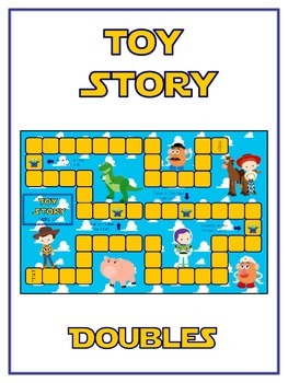 Toy Story Math Folder Game - Common Core - Adding Doubles