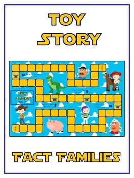 Toy Story Math Folder Game - Common Core - Fact Families