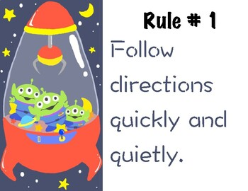 Toy Story Rules