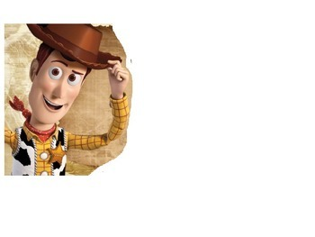 Toy Story's Woody - Reading Time PPT
