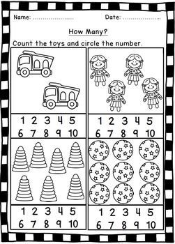 Toy-Themed Counting Activities.
