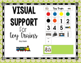 Toy Train Visual Support {for Autism}