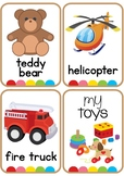 Toy Vocabulary Flash Cards