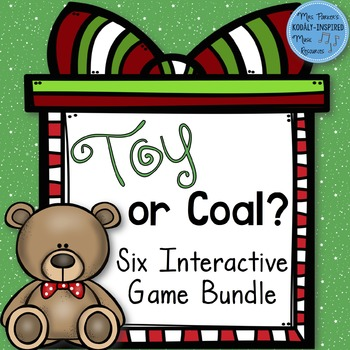 Toy or Coal? {6 Interactive Melodic Games}