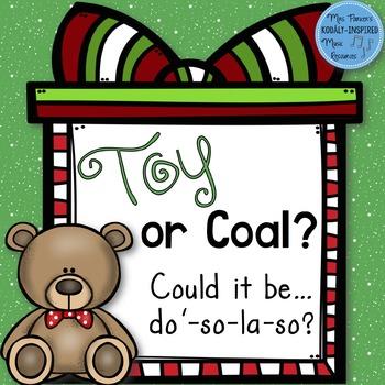 Toy or Coal? {High Do Interactive Game}