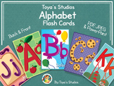 Toya's Studios Alphabet Flashcards