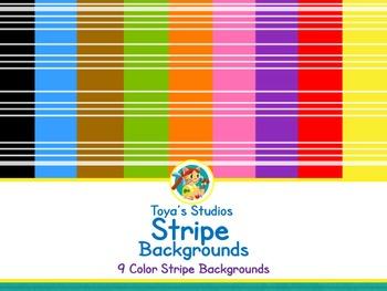 Toya's Studios Stripe Backgrounds