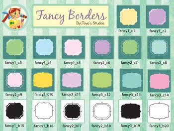 Toya's Studios Fancy Borders