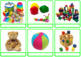 """Photo Picture Cards *54 TOYS* 3 Formats 3.5x3.7"""""""
