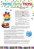 Toys- Comprehension