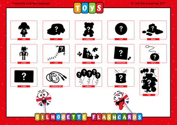 Toys - English Flashcards