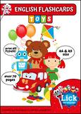 Toys - English Flashcards