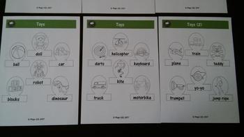 Toys  Finger Puppets (level 2)