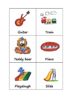 Toys Flash Cards