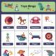 Toys Flashcards, Bingo & Worksheets Set