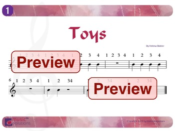 Toys Flute And Oboe mp3s and pdf unit 1.