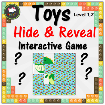 Toys Hide & Reveal Interactive Game