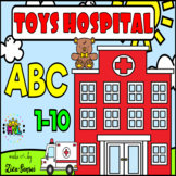 Toys Hopistal Band-aid ABC Alphabet Numbers Matching Pack