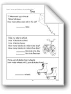 Toys/Jump Rope: Word Problems