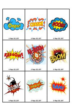 Toys KABOOM Card Game
