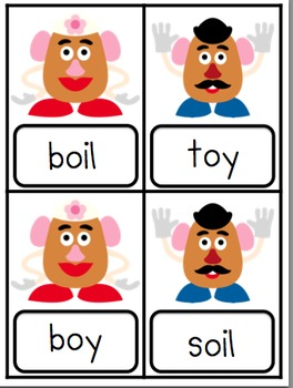 Toys! Literacy Activities for /oi/ and /oy/