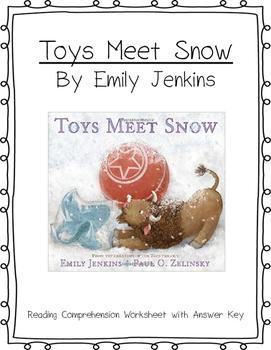 Toys Meet Snow Reading Comprehension