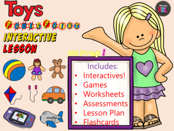 Toys - NO PREP Interactive ESL Lesson