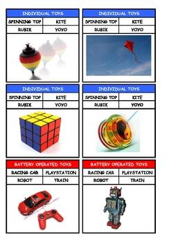 Toys Quartet Cards