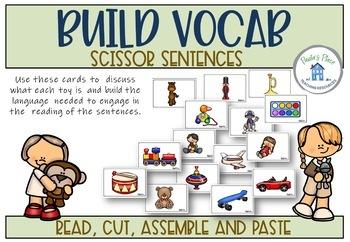 Toys - Scissor Sentences