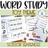 Sight Word Sentences Toy Theme