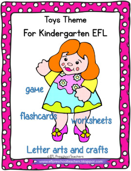 Toys Thematic Unit for Preschool ELL