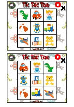 Toys Tic Tac Toe ( level 1)