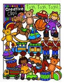 Toys Clipart {Creative Clips Clipart}