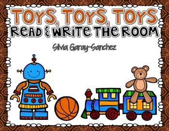 Toys, Toys, Toys, Read and Write the Room Center