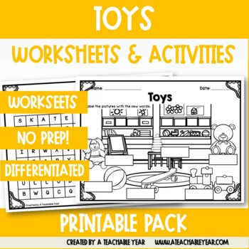 Toys- Vocabulary Pack