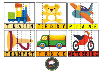 Toys Word building  Puzzles