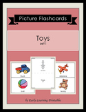 Toys (set I) Picture Flashcards