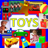 Toys topic pack -old and new toys, history PLUS toy shop role play