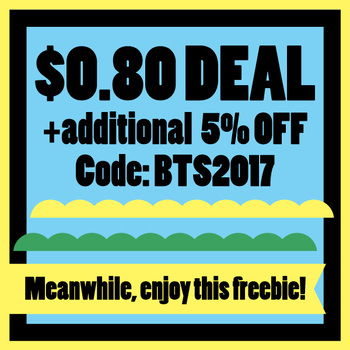 TpT Back To School Sale 2017 and free ribbons clip art